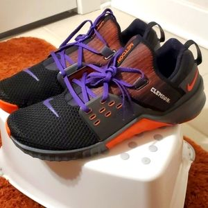 "New Nike Clemson Tiger Metcon Free size 12.5 ""RARE"